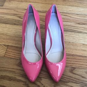Pink BCBG pumps